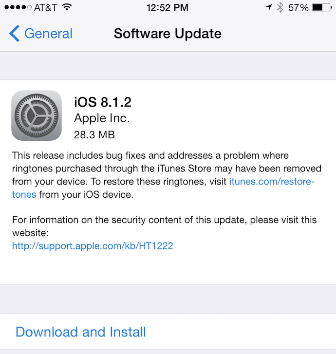 Download ios 8. 1. 2 links for iphone, ipad, ipod touch [ direct links ].