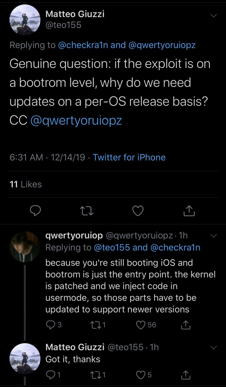 Cydia for iOS 13.2.3